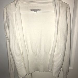 Women's White Small Old Navy Cardigan